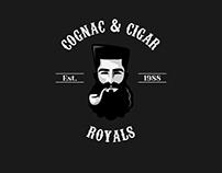 Cognac And Cigar Logo Concept