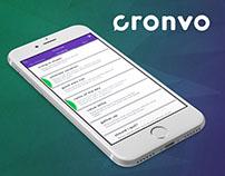 Cronvo App
