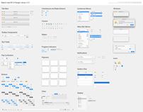 MacOS Sketch UI