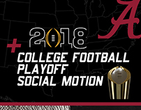 2018 CFP Playoff Social Motion