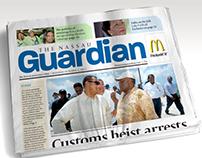 Nassau Guardian redesign