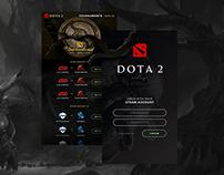 DOTA 2 Mobile App