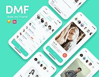 Date My Friend   UX UI Design