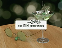 The Gin Professors - Identity and Web Design