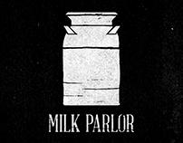 Milk Parlor Branding