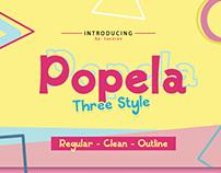 Popela Trio Font