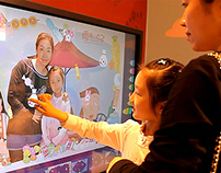 Interactive installation for Kids