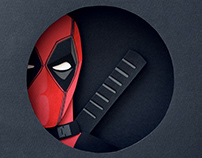 Deadpool | Paper art