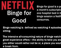 Netflix Binge for Good