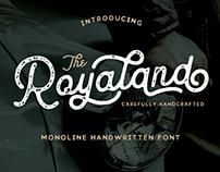 Royaland Vintage Font (Free Download)