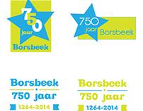 Logo ontwerp - gemeente Borsbeek