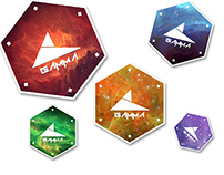 Gamma Stickers