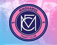 Mindgames Fight Club Visual Identity