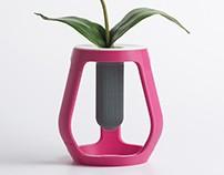 3D Printed - Gravity - Flower vase   Eumakers