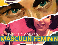 """Masculin Feminin"" Film Poster"