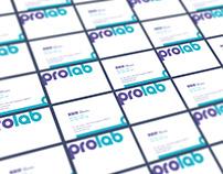 """prolab"" branding"