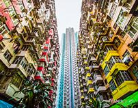 Hong Kong Walls Serie