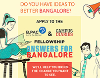 'Answers for Bangalore'