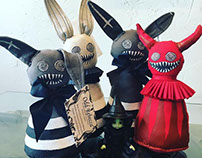 Cloth Dolls, Plushies, and Fuzzy Monsters