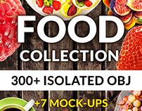 Food Pro Collection 300 Mockup & Hero Images
