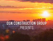 Promo video about construction company