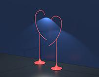 Flamingo Floor Lamp