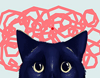 Meow - Interactive Illustration - Creative Coding