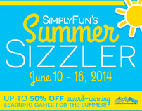Summer Sizzler Campaign - SimplyFun