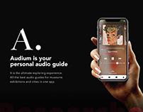 Audium. Personal audio guide / UX/UI