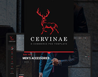 Cervinae - Modern E-commerce Website Template