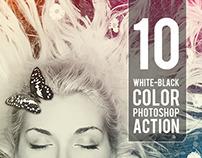 10 WB - Color Photoshop Action