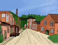 illustration   Not Quite Fengersfors, 2015