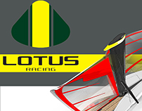 -Lotus racing sailer