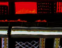 Shatterhand Remastered Concept Art - Ravaged City