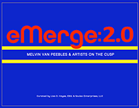 Emerge2.0 Melvin Van Peebles & Artist on the Cusp. Cat.