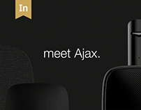 Ajax Brand Site. Interactive Design/User Experience.