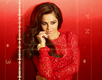 Grazia Magazine Beauty Shoot with Cheryl Cole