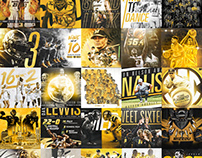 2017-18 Mizzou Athletics Social Content