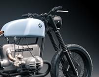 CGI   BMW R75/5 Cafe Racer