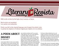Literary Magazine/Revista Literaria pull-out