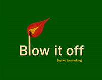 Blow it Off - Concept and Storyboard for animation film