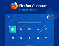 Mozilla Firefox — Browser extension design concept