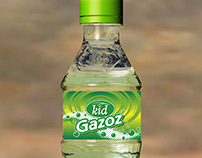 KID Gazoz, Cola, Limonata Şişe ve Etiket Tasarımı