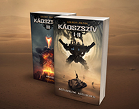 BOOK COVER DESIGN - Zoltan Szilagyi - Chaos Heart I-II-