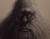 Bigfoot Drawings