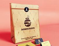Bomburger 3D Packaging Visualization