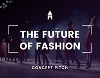 Future of Fashion Presentation Design PowerPoint Pitch