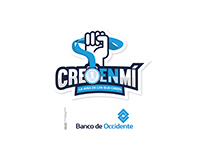 Logo design Banco de Occidente