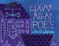 Edgar Allan Poe's book covers