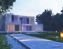 Modern Villa ,Abu Dhabi - U.A.E